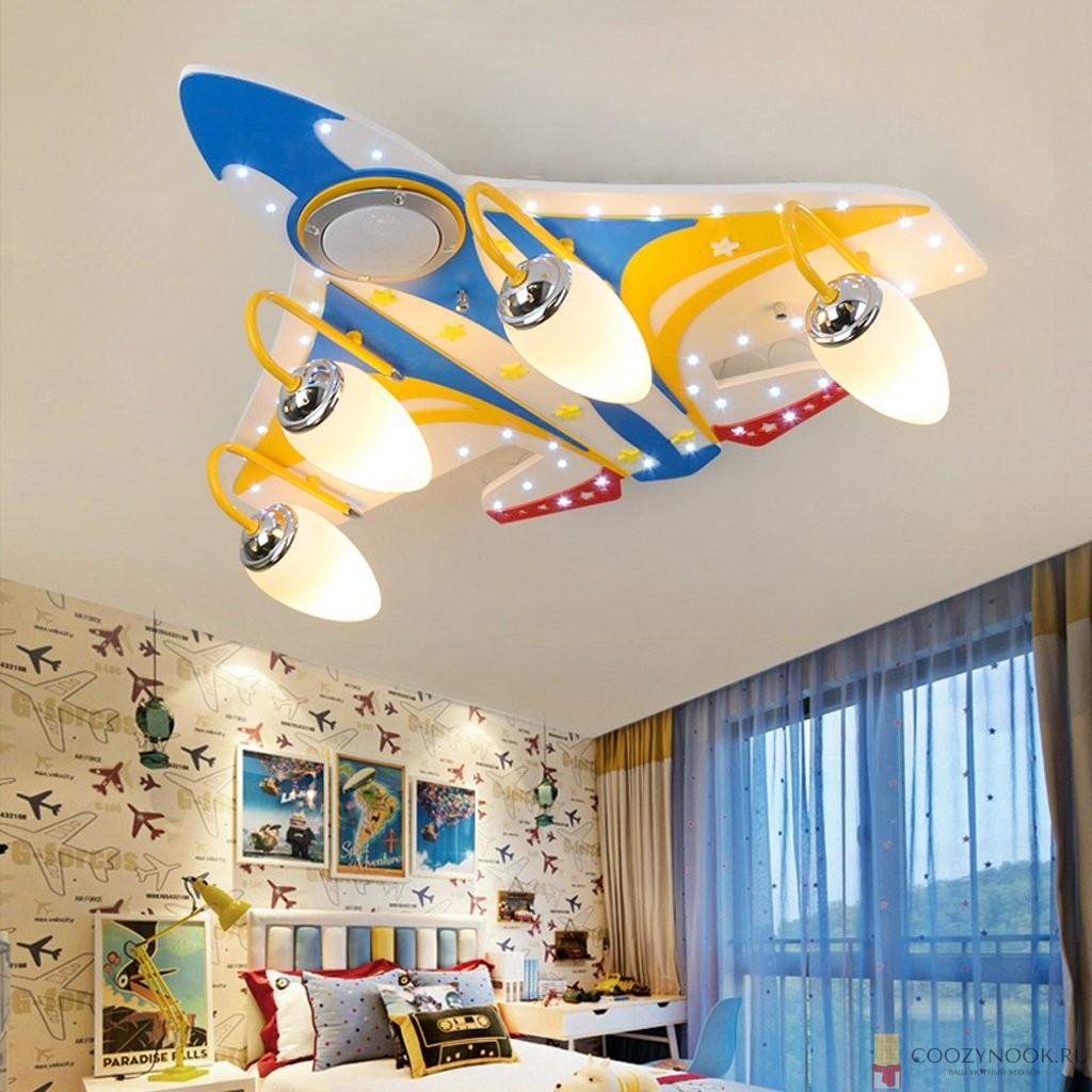 свет в детской комнате