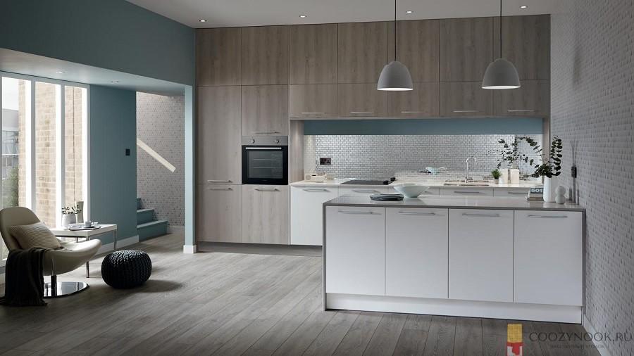 шкаф, до потолка, кухня, в скандинавском стиле, фото, пример