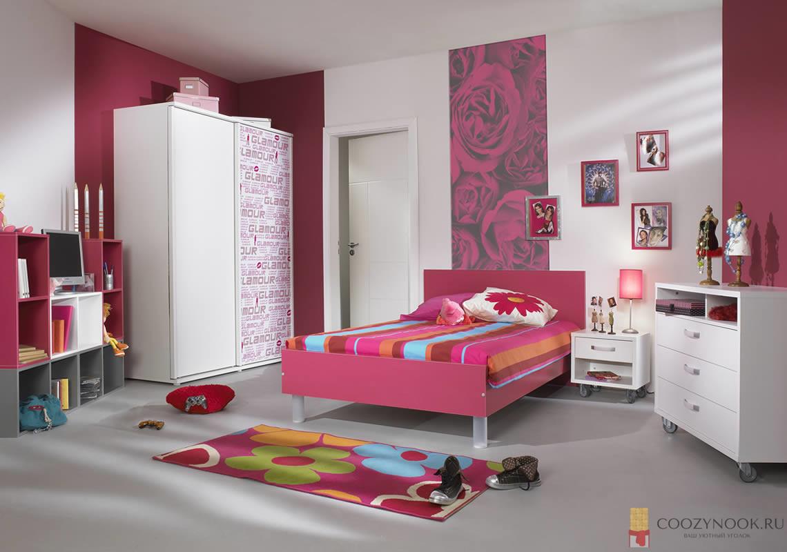 комната для юной девушки