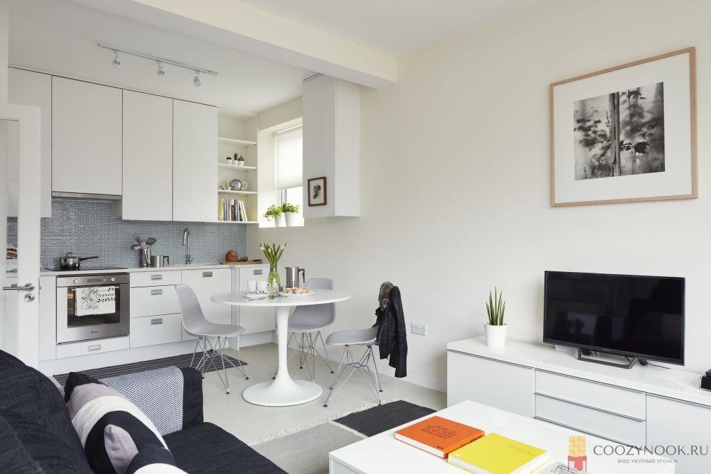 гостиная на кухне