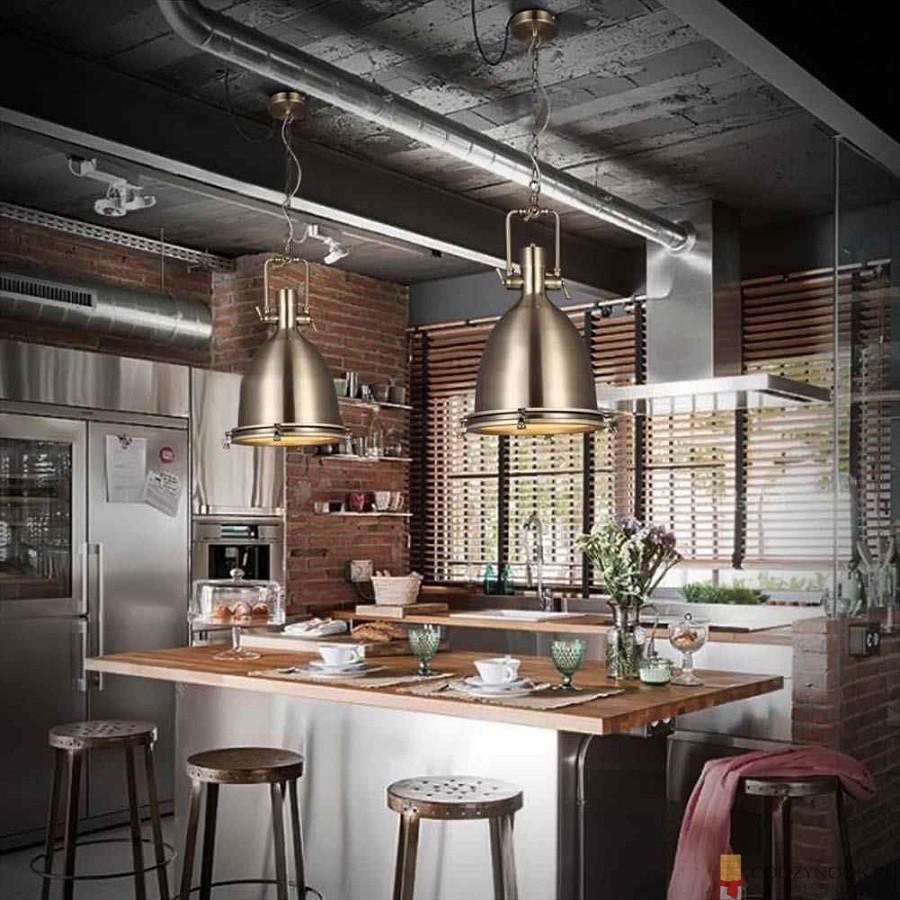 лофт, столешница, барная стойка, фото, пример, кухня
