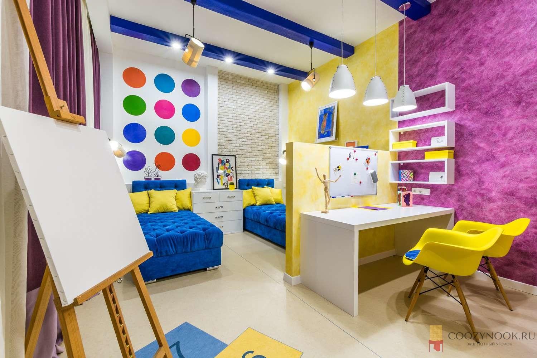 разделение комнаты на двух подростков